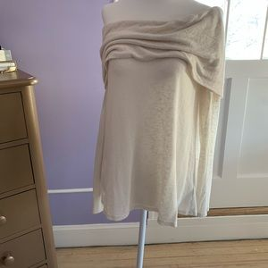 Velvet By Graham and Spence off shoulder sweater